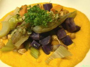 AlimenVie cycle avancés1 cours légumes oubliés vitelottes rutabaga pois chiche crème carottes raifort