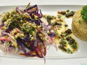 AlimenVie cycle avancés1 cours épices lointaines duo choux thai soja germé riz complet