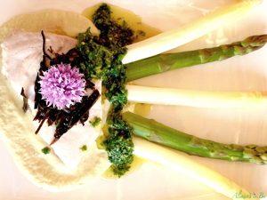AlimenVie cycle avancés1 cours algues poisson vapeur crème asperges